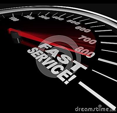 Fast Service - Speedy Customer Support
