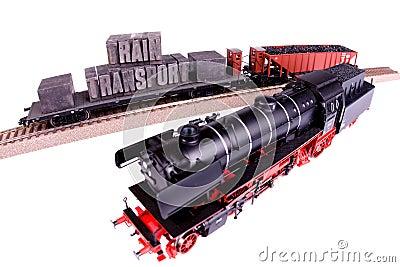 Fast Transport on Railway