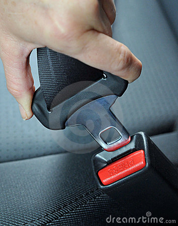 Free Fasten The Seat Belt Stock Photography - 4492192