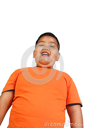 Free Fat Asian Boy Royalty Free Stock Images - 74495389