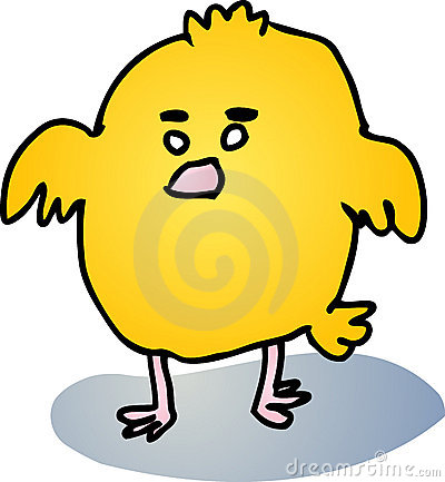 Baby Bird Clipart. FAT BABY BIRD