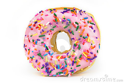 Fat Donut - Unhealthy Food Royalty Free Stock Images - Image: 16813059