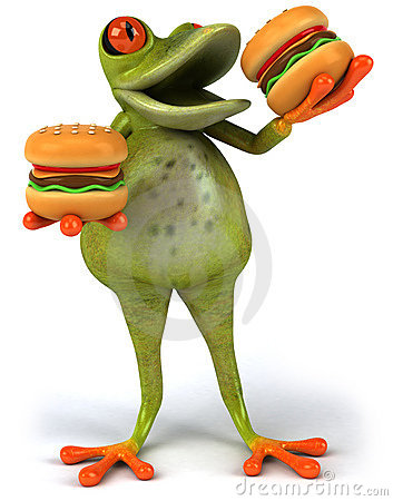 Fat frog