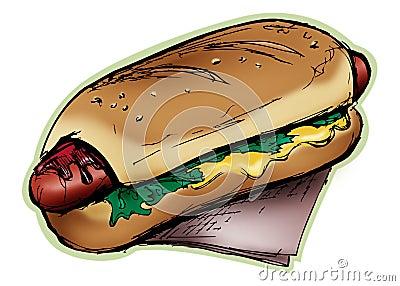 Fat Hotdog