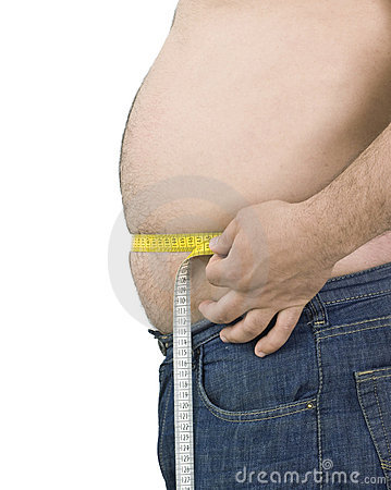 Free Fat Man Stock Photography - 15727392