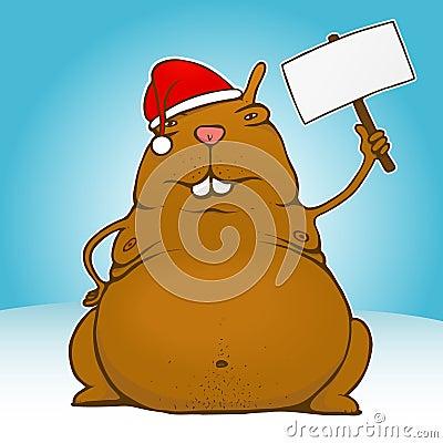 Fat santa rodent