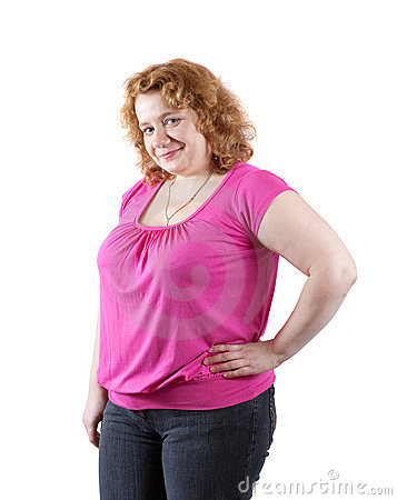 Fat ugly woman