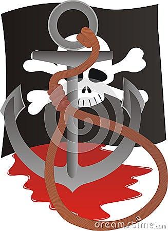 The fate of a pirate.
