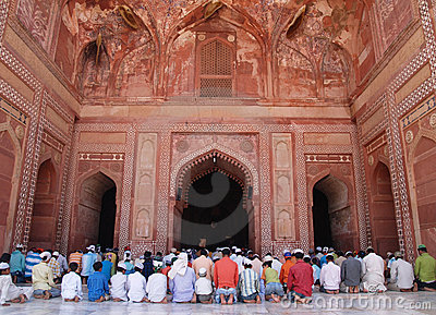 Fatehpur Sikri, Agra, India Editorial Photo