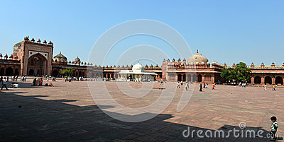 Fatehpur Sikri Complex Editorial Photo