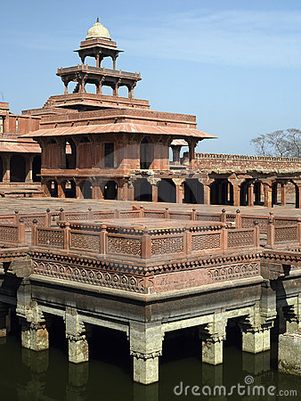 Fatehpur Sikri near Agra in India.