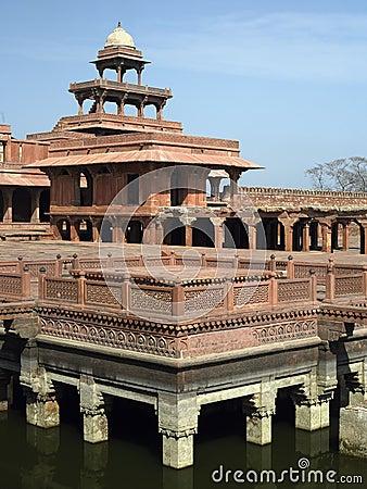 Fatehpur Sikri near Agra in India.