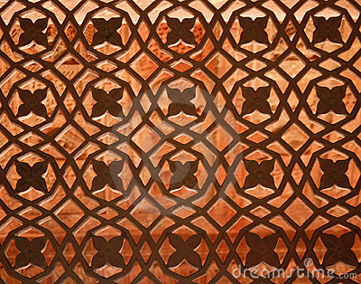 Fatehpur Sikri temple window, India