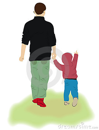 Free Father And Child Stock Photos - 19184583