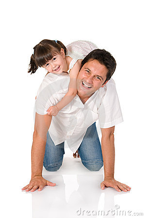 Free Father And Daughter Royalty Free Stock Image - 10012446