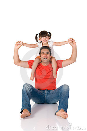 Free Father And Daughter Stock Photo - 10012540