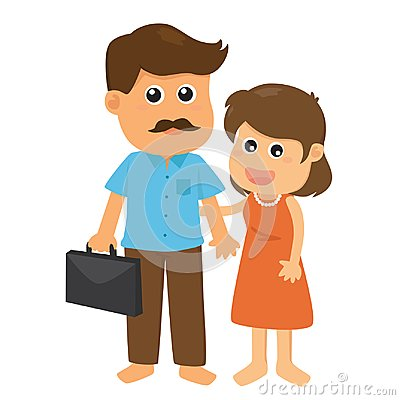 Free Father And Mother Stock Image - 101213111