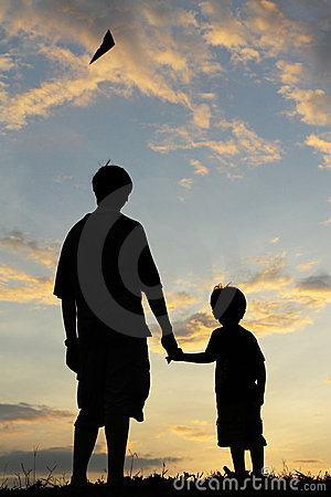 Free Father And Son Royalty Free Stock Images - 13409419