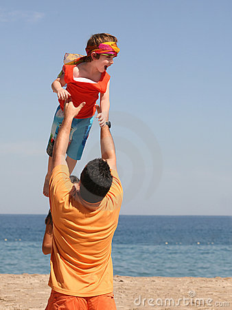 Free Father And Son Stock Photography - 1916462