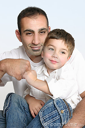 Free Father And Son Best Mates Stock Images - 1631234