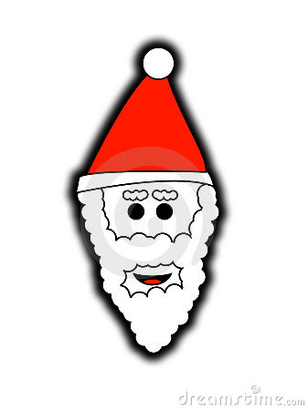 Father Christmas Head