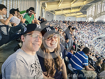 Father And Daughter At Baseball Game Royalty Free Stock Photo - Image: 27957555