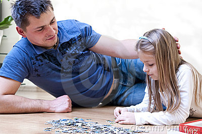Father daughter puzzle