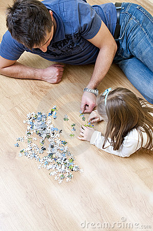 Father and daughter puzzle