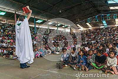 Father Pedro Opeka Editorial Stock Photo