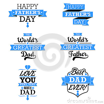 Free Father S Day Text Elements Stock Image - 40283041