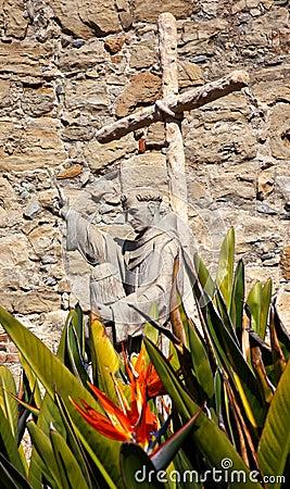 Father Serra Statue Mission San Juan Capistrano