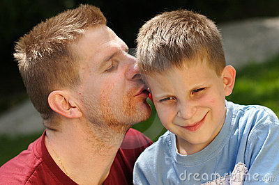 Father & Son Royalty Free Stock Photos - Image: 6132068