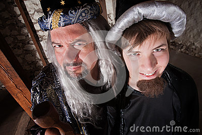 Father and Son Wizard