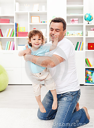 Father With Toddler Son Stock Image - Image: 24753061