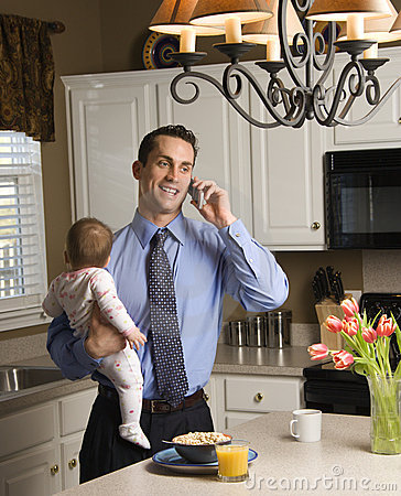 Free Father With Baby. Stock Photos - 2284483