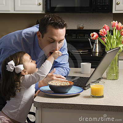 Free Father With Daughter. Royalty Free Stock Photo - 2284495