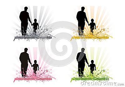 Fatherhood through the seasons