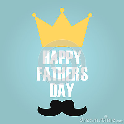 Free Fathers Day King Royalty Free Stock Photo - 73064035