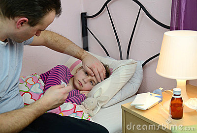 Fathers help child sickness