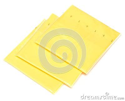 Fatias do queijo