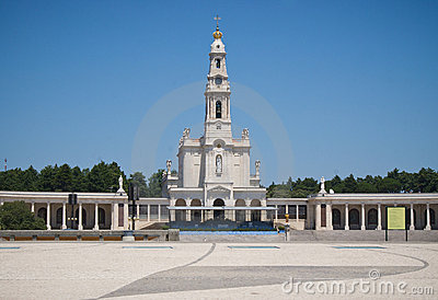 Fatima sanctuary in Portugal