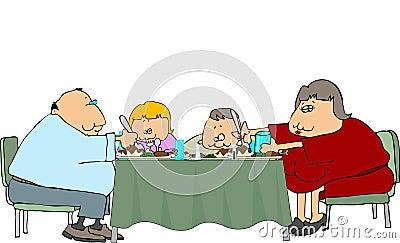 Fatseau Family Dinner
