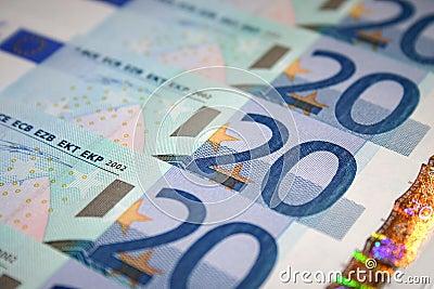 Fattura dell euro 20