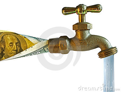 Faucet, process water