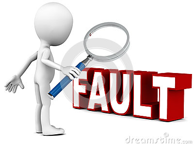 Bad Credit Credit Cards >> Fault Stock Images - Image: 32572824