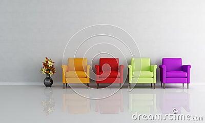 fauteuil color par quatre - Fauteuil Colore