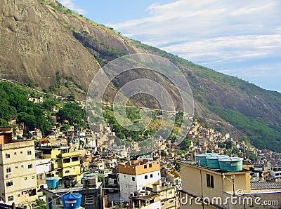 Favelas Rio de Janeiro, Brazil