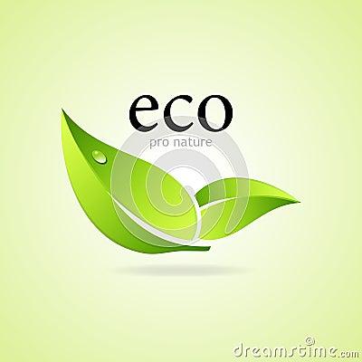 Favorable símbolo de la naturaleza de Eco