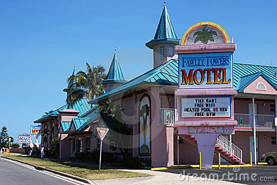 Fawlty Towers Motel Cocoa Beach Florida