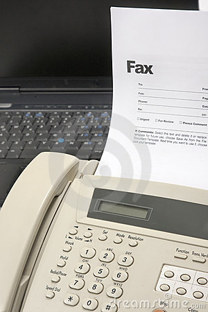 Free Fax Royalty Free Stock Photos - 15462618